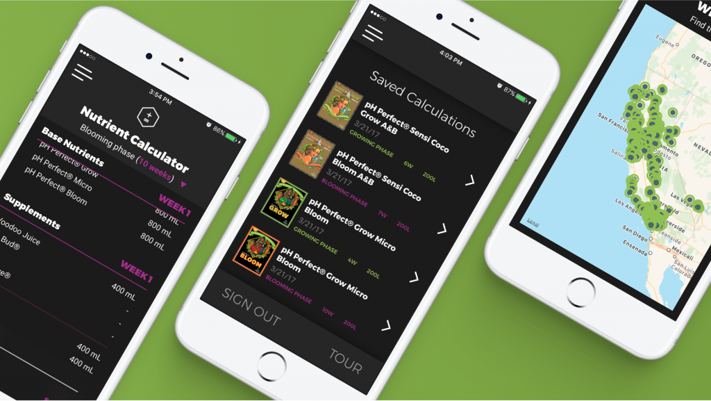 BudLabs, the Advanced Nutrients hydroponics app built by