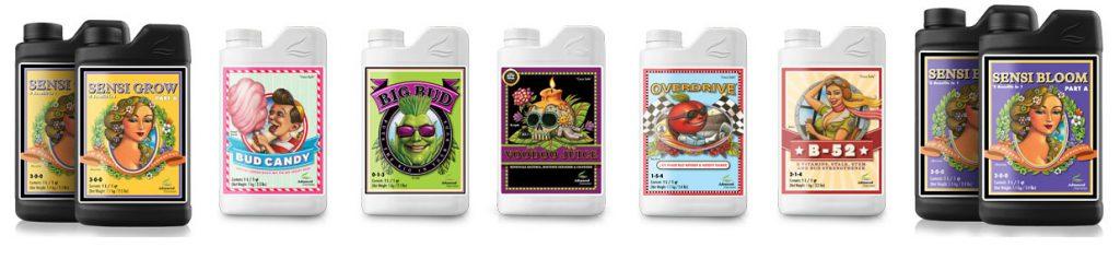 Advanced Nutrients Starter Kit Nutrients